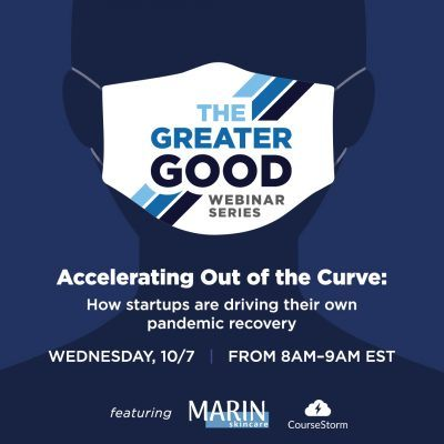 Greater Good Webinar: Accelerating out of the curve