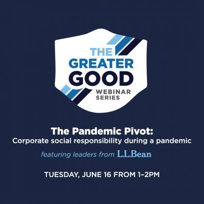 Greater Good Webinar: The pandemic pivot